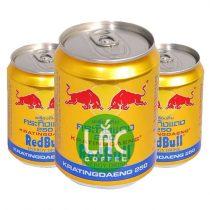 Nước tăng lực Bò húc (Red Bull)